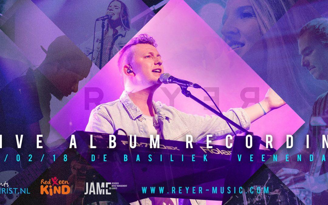live aanbiddingsalbum opname in Veendaal