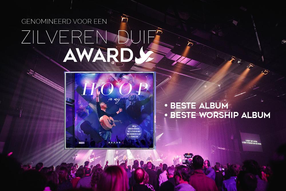 'Hoop in mij' genomineerd voor Zilveren Duif!
