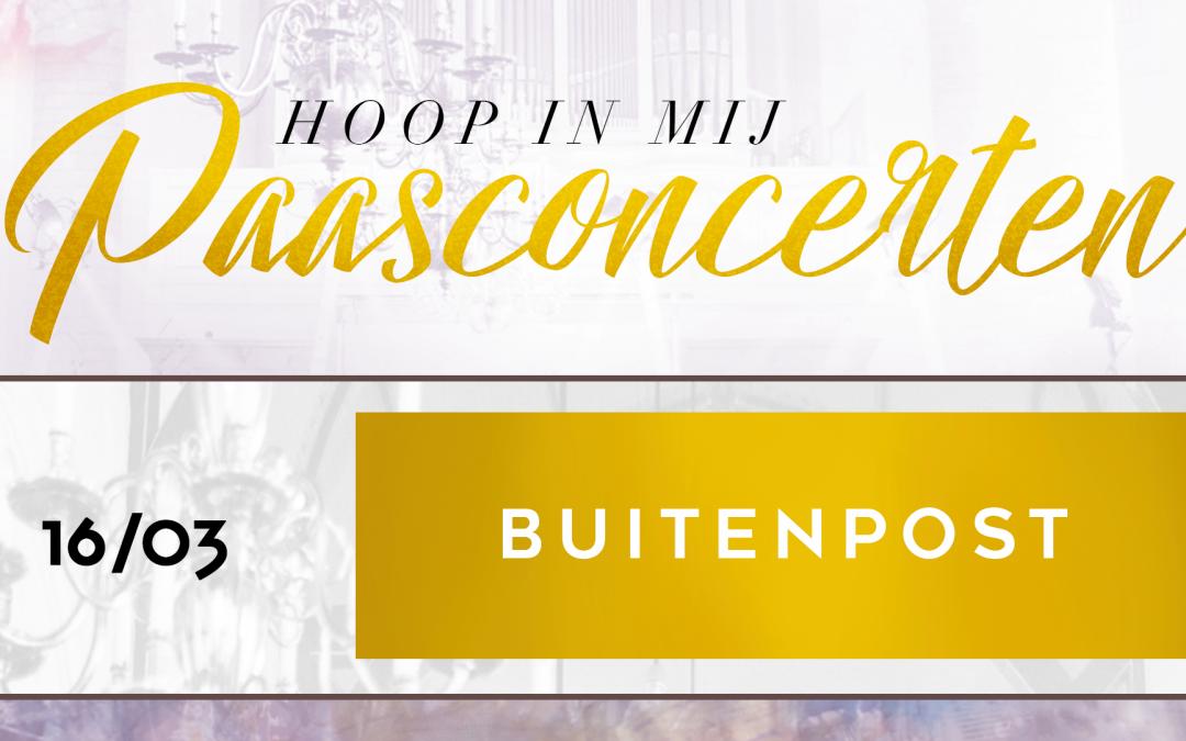 Hoop in mij Paastour – Buitenpost