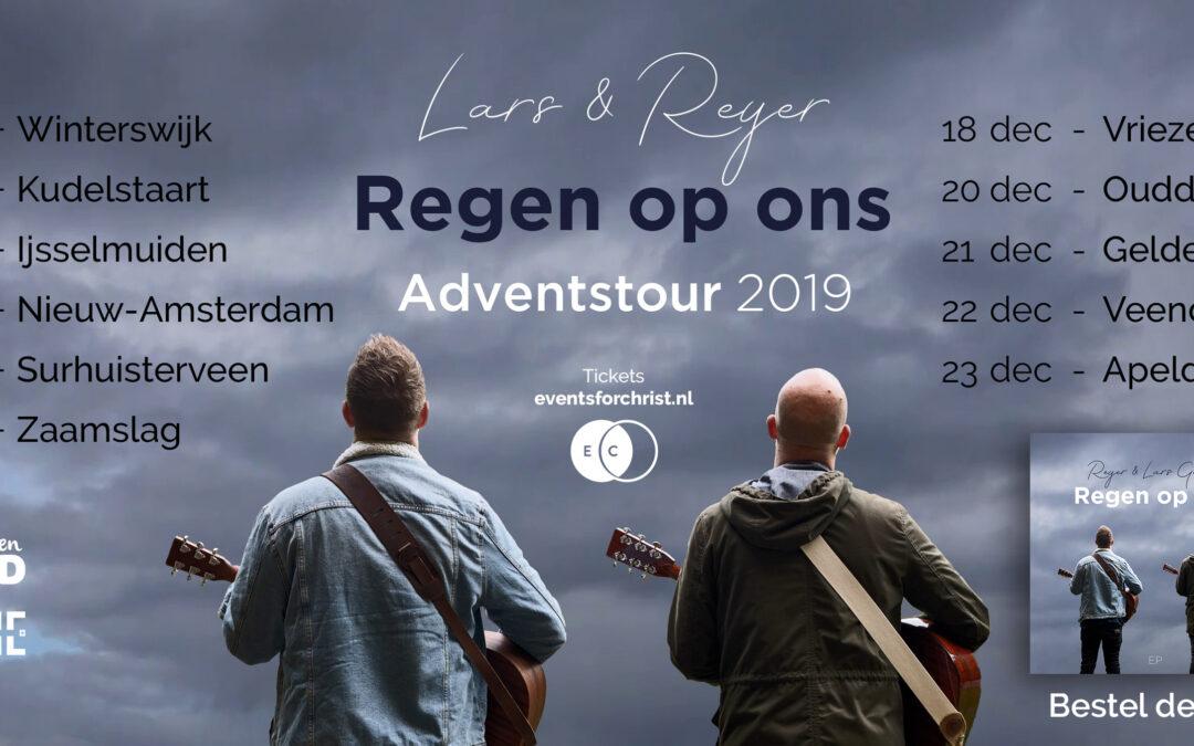 Nieuwe Adventstour en EP met Lars: Regen op ons